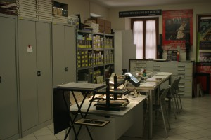 laboratory and archive